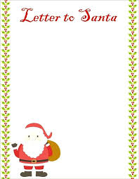 Eve Box Ideas And Free Templates Custom Letter From Santa Template