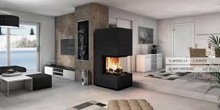 Monolith Fire Modell Serie Modul Moderne Kamine