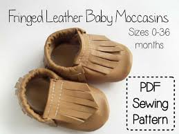 Baby Moccasin Pattern