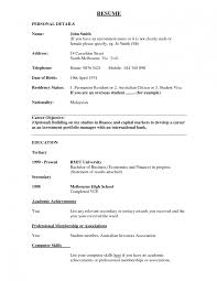 Objective For Banking Resume Sample Resume For Bank Teller With No Experience Httpwww 22