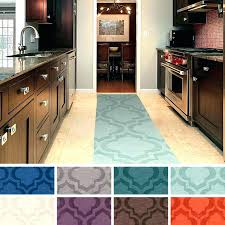 rubber backed kitchen rugs washable non slip non rubber backed kitchen mats