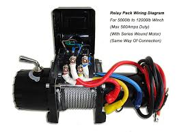 new runva a electric winch solenoid relay v lb to lb relay solenoid pack wiring diagram winch not included