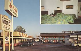 royal crest motel medford oregon by the cardboard america archives