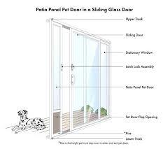 patio panel aluminum patio panel sliding glass dog door doors patio panel pet doors 93 to 96 patio panel pet door home depot