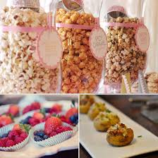 Food Ideas For Baby Shower For A Girl