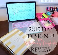 Day Designer Review 2016 2015 Day Designer Review Girl Organized