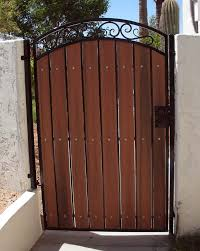 wrought iron privacy fence. Contemporary Wrought Decorative Arched Gate With Privacy Panels On Wrought Iron Fence M