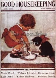Good Housekeeping Advertising The Advertising Archives Magazine Cover Good Housekeeping 1920s
