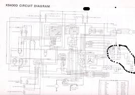 more electrical gremlins yamaha classics yamaha owners club xs400d circuit diagram 1 jpg