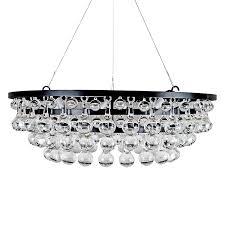 modern glass ball drop chandelier