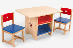 toddler table and chairs set wood  kids wooden wonderful