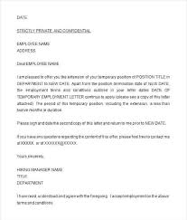 A Job Offer Letter Format Business Letters Proposal Template