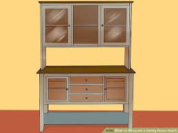 image titled decorate. Dining Room Hutch Image Titled Decorate A Step  Building Plans