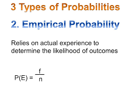 Types Of Probability 3 Types Of Probabilities Ppt Video Online Download