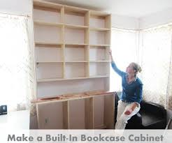 Pictures Of Built In Bookcases How To Make Built In Bookcases 8 Steps With Pictures