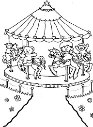 Small Picture Carousel Coloring Sheets Coloring Coloring Pages