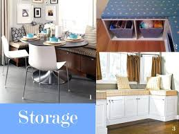 examples of banquette seating with storage compartments diy kitchen for your