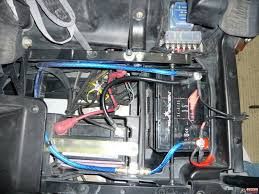 dual battery installation polaris rzr forum rzr forums net aopec makes just such a device for utv s atv utv dual battery kit smart battery isolator here is a picture of where i mounted my aopec isolator in the