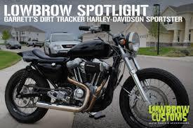 garrett s dirt tracker inspired harley davidson sportster
