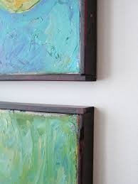 Paintings  canvas frame does not absolutely need to be mitered Dans le  Lakehouse: Reader Q: