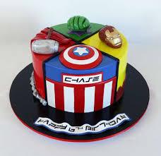 Birthday Cake Avengers Lulalisacom