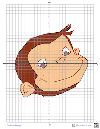 Curious George Graphing Worksheets With Characters Four