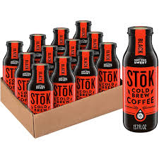 Our products cold brew coffee 405 ml; Amazon Com Stok Cold Brew Coffee Not Too Sweet 13 7 Oz Bottle Pack Of 12 Grocery Gourmet Food