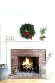white mantel fireplaces brick fireplace wood painted ck mantle red electric