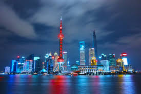 wallpaper weekends shanghai skyline at night for mac iphone ipad and apple watch