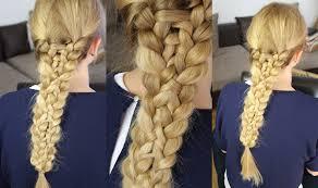 Einfache Flechtfrisuren Easy Hairtutorial Kalilopii Youtube Komplizierte Flechtfrisuren