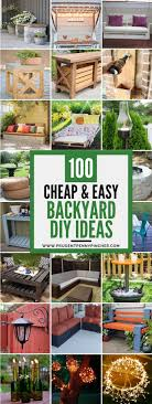 Backyard Design Ideas On A Budget 100 cheap and easy diy backyard ideas