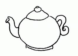 Small Picture Teapot coloring page Boyama sayfalar Pinterest Teapot Free