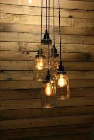hanging pendant light interesting hanging pendant light 5 jar pendant light mason jar chandelier light 3