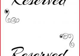 reserved sign templates free printable sign templates 313006 custom carnival party signs