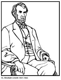 Small Picture Abraham Lincoln Coloring Page Coloring Pages Clip Art Library