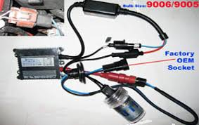 hid conversion xenon light kits bulbs  installations guides hid installation of 9005 9006