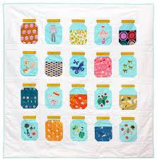 Treasure Jar Quilt Pattern (I Am Luna Sol) | Tutorials, Patterns ... & Treasure Jar Quilt Pattern (I Am Luna Sol) Adamdwight.com