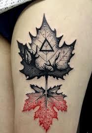 Co Znamená Javorový List Maple Leaf Tetování