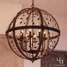 art nouveau chandelier x midnight bronze finish collection polychrome
