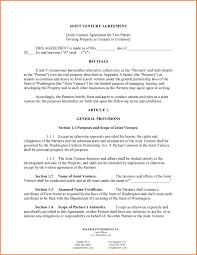 Letter Of Agreement Form Letter Idea 2018