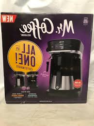 This optimal brew™ coffee maker is designed to extract the fullest flavor possible. Mr Coffee Occasions Coffee Maker Thermal Carafe Single