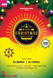 018 News Eve Flyer Template Free Download Ideas Merry