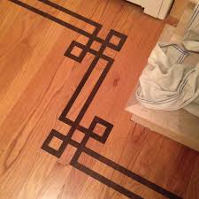 wood floor inlays. I Have A Client That Is In The Midst Of Renovating Their Entire Second Floor. This Includes Refinishing Hardwood Floors On Level. Wood Floor Inlays