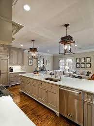 Huge Open Galley Kitchen with LOTS of workspaces and sink on the island (as  per