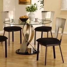 Round Glass Kitchen Table Sets Foter