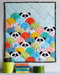1060 best Quilts: Children's Quilts images on Pinterest | Baby ... & Panda clamshell quilt, Issue 41 at Love Patchwork and Quilting Adamdwight.com
