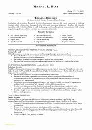 Sample Recruiting Resume With Free Download Hr Recruiter Sample