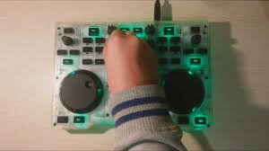 Hercules Djcontrol Glow Controller With Led Light And Glow Effects Hercules Djcontrol Glow The Glowing Party By Hercules Dj
