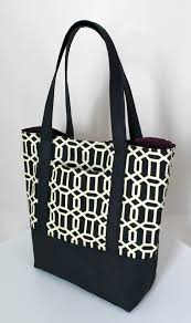 the inspired wren tutorial lined canvas tote
