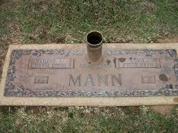 Eddie Lee Mann (1891 - 1974) - Genealogy